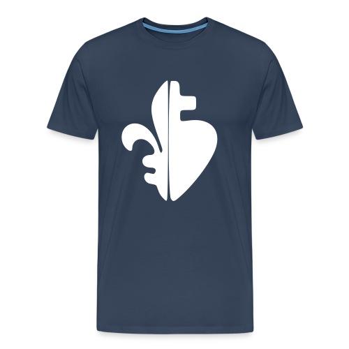 Sacré Coeur & Fleur de Lys - T-shirt Premium Homme