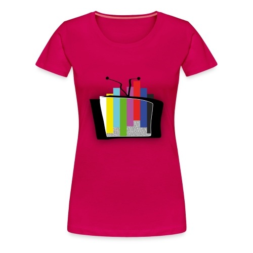 Tv cassée ( Fille ) - T-shirt Premium Femme