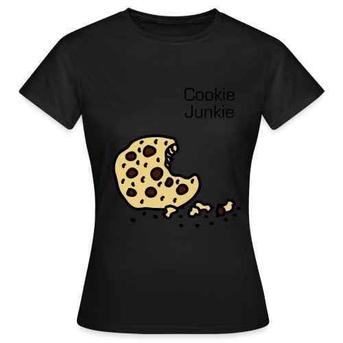 Cookie Junkie T-Shirt (edelbraun) - Frauen T-Shirt