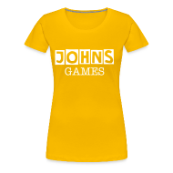 T-Shirts ~ Women's Premium T-Shirt ~ Johns Game Channel!