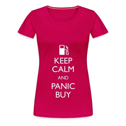 Panic Buy - Ladies T - Women's Premium T-Shirt