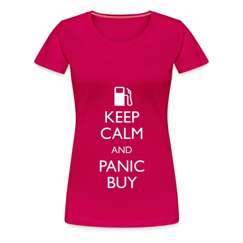 Panic Buy - Ladies T - Women's Premium T-Shirt