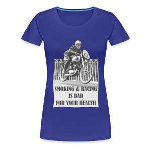 Smoking & Racing - Women's Premium T-Shirt