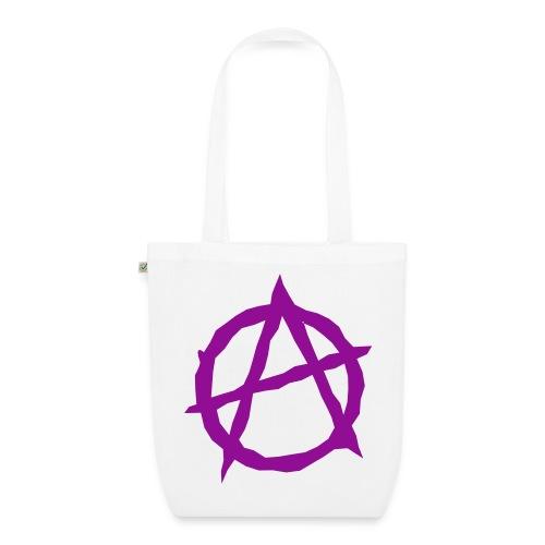 Øko, anarki, skinnende tryk - Øko-stoftaske