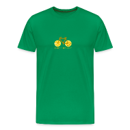 T-Shirts ~ Men's Premium T-Shirt ~ pamplemousse