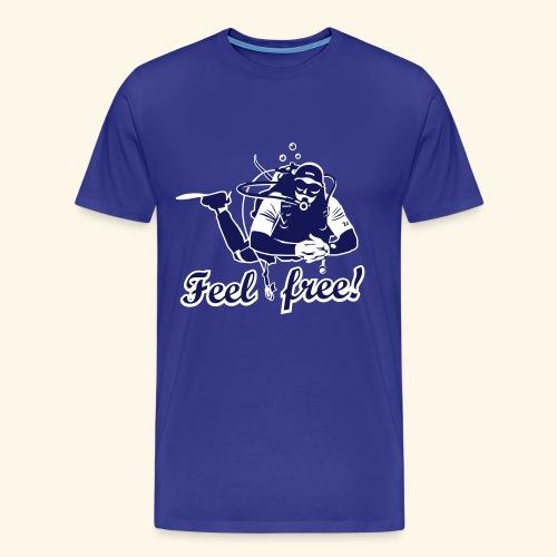 Feel free!, bicolor - Männer Premium T-Shirt