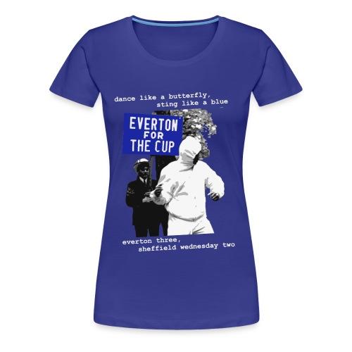 Ladies' 1966 FA Cup Ali t-shirt  - Women's Premium T-Shirt