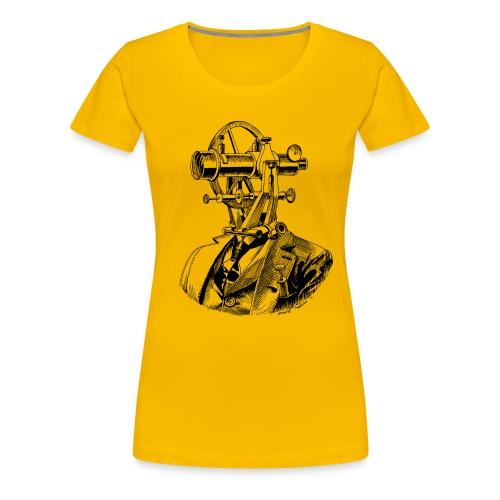 Theodolite Head T - Women's Premium T-Shirt