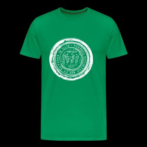 Tempora mutantur nos et mutamur in illis (1c white) - Männer Premium T-Shirt