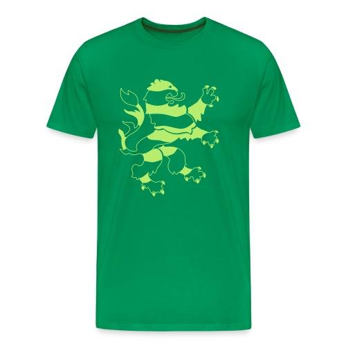 Hessenlöwenecoshirt - Männer Premium T-Shirt