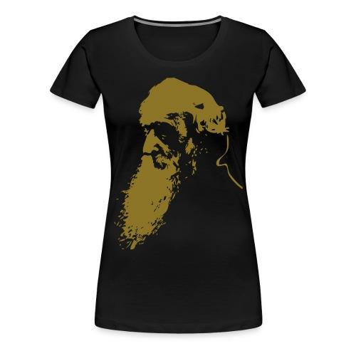 William Booth (gold) - Frauen Premium T-Shirt