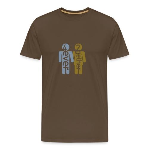 4ever2gether Men's classic - Männer Premium T-Shirt
