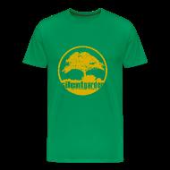 T-Shirts ~ Männer Premium T-Shirt ~ silent garden (yellow oldstyle)