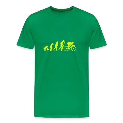 Evolution Cycle !! - Men's Premium T-Shirt
