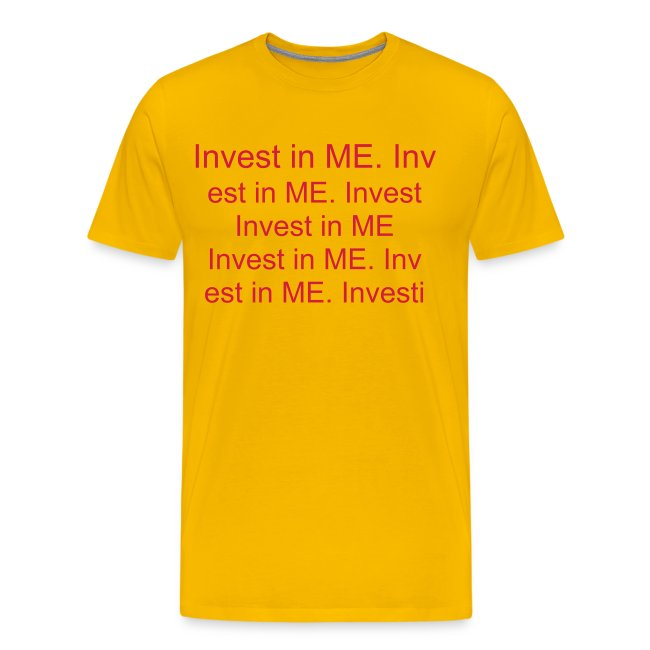 Invest in ME writing (red)
