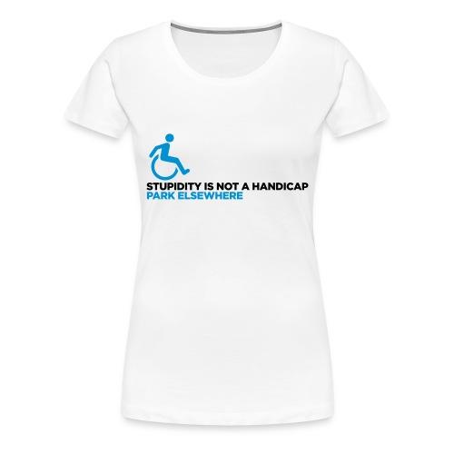 Disability/Handicap Womens - Women's Premium T-Shirt