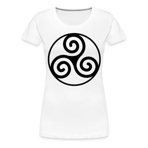 Triskèle - T-shirt Premium Femme