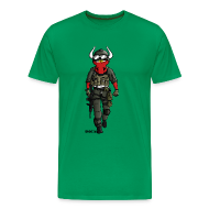 T-Shirts ~ Männer Premium T-Shirt ~ Soldier Oxe