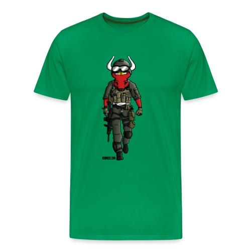 Soldier Oxe - Männer Premium T-Shirt