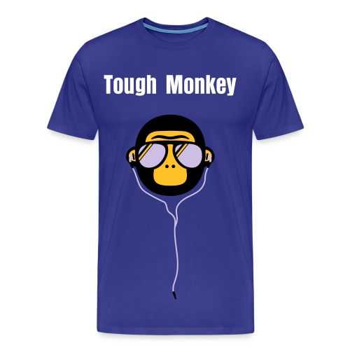 Tough Monkey - Herre premium T-shirt