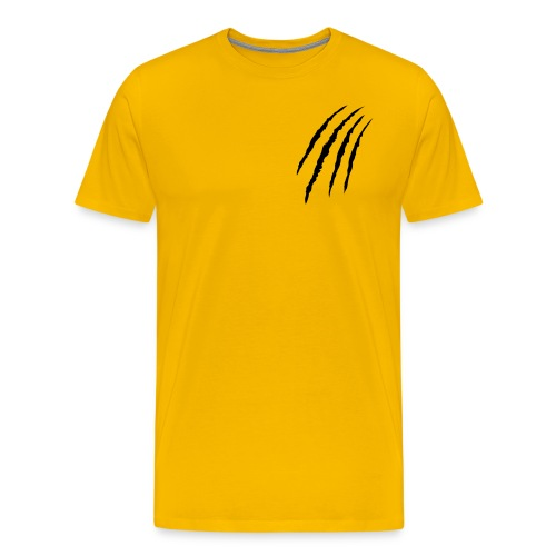 SAVAGE YELLOW BASIC - Men's Premium T-Shirt