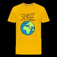 Tee shirts ~ T-shirt Premium Homme ~ Tshirt breton dans tous les coins du monde
