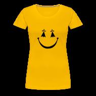 Tee shirts ~ T-shirt Premium Femme ~ Tee shirt smiley hermine