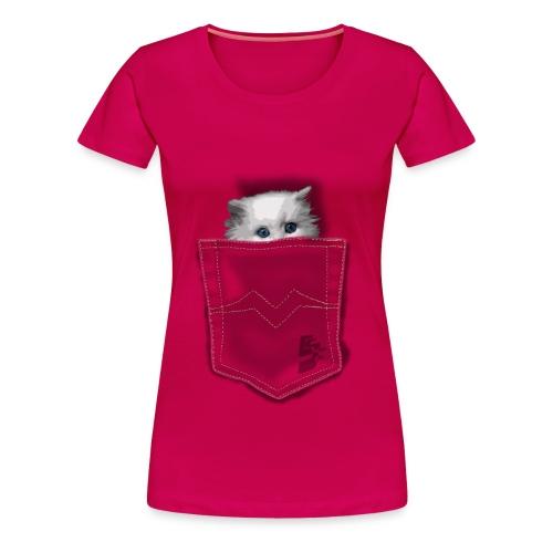 Chat ( Fille )  - T-shirt Premium Femme