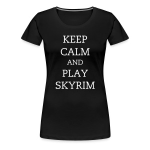 Skyrim - Female - Women's Premium T-Shirt