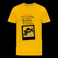 Tee shirts ~ T-shirt Premium Homme ~ Tshirt humour breton alcool photo