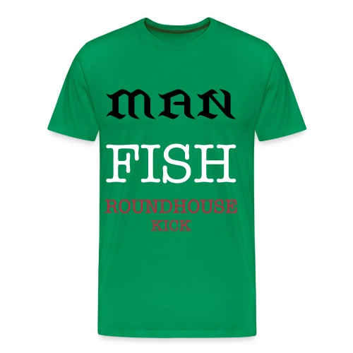 FISHMANKICK - Men's Premium T-Shirt