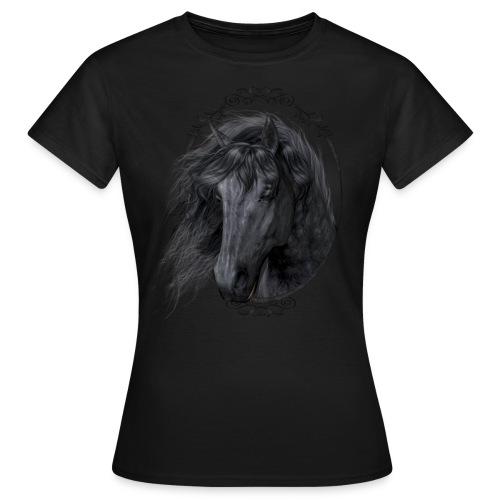 Black Beauty - Frauen T-Shirt