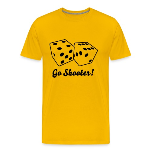 Go Shooter! - Men's Premium T-Shirt