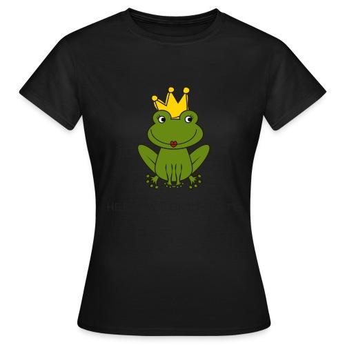 Froni mit Schriftzug Herzallerliebste - Frauen T-Shirt