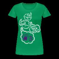Tee shirts ~ T-shirt Premium Femme ~ Tee shirt humour pas de verre pas soif mais je boirai tout
