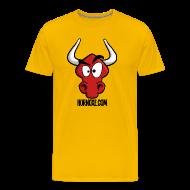 T-Shirts ~ Männer Premium T-Shirt ~ Hornoxe Logo