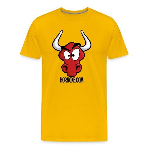 Hornoxe Logo - Männer Premium T-Shirt