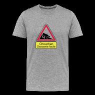 Tee shirts ~ T-shirt Premium Homme ~ Panneau chouchen decente facile Homme