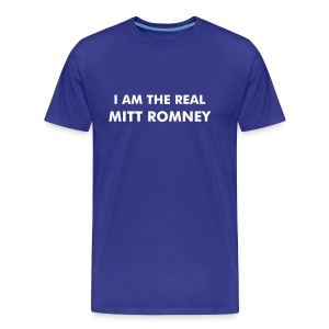 Real Mitt Romney - Men's Premium T-Shirt