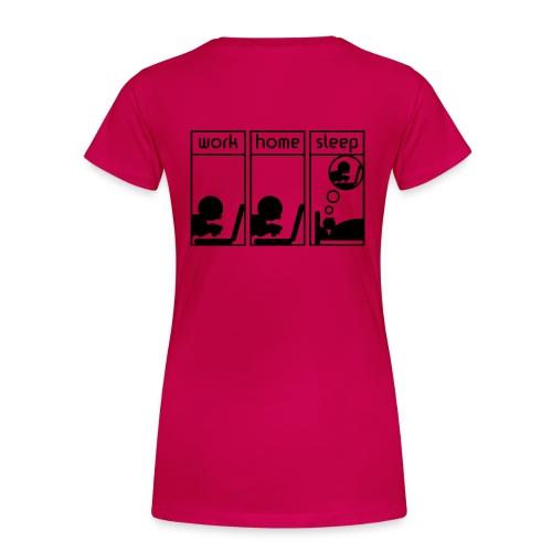 office woman - Vrouwen Premium T-shirt