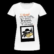 Tee shirts ~ T-shirt Premium Femme ~ Tshirt humour breton alcool photo Femme