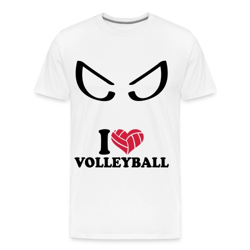 i love bad volley ball - T-shirt Premium Homme