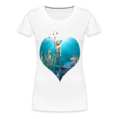 Little Mermaid 1 - Frauen Premium T-Shirt