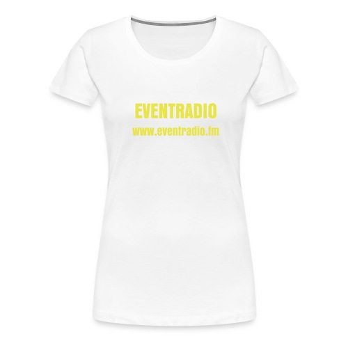 EVENTRADIO FAN T-SHIRT FRUAEN - Frauen Premium T-Shirt