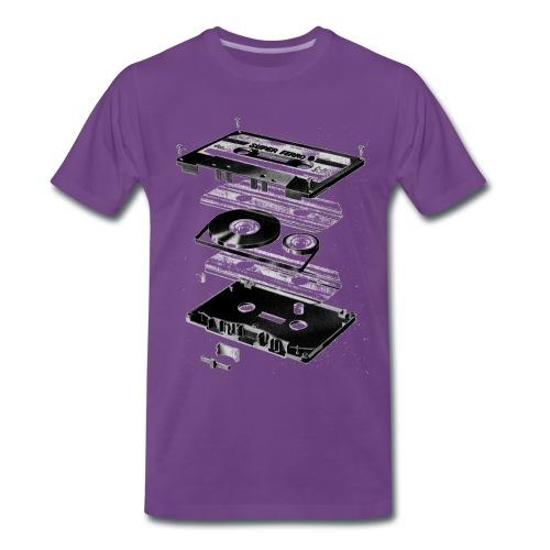 Edelwesen Kassette Men - Männer Premium T-Shirt