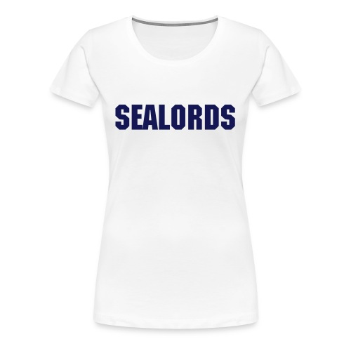 Sealords Girlie White - Frauen Premium T-Shirt