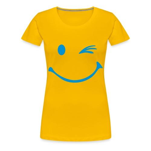 Dames shirt Knipoog - Vrouwen Premium T-shirt