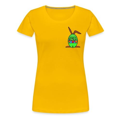 Osterhasenei - Frauen Premium T-Shirt