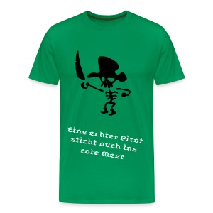 Captain Pirate - Männer Premium T-Shirt