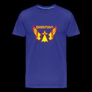 Tee shirts ~ T-shirt Premium Homme ~ T-shirt je suis barman super hero breton